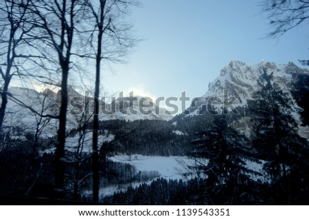 Escape to mountains of Switzerland #1139543351