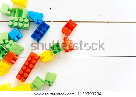 Baby toys on a table #1139793734