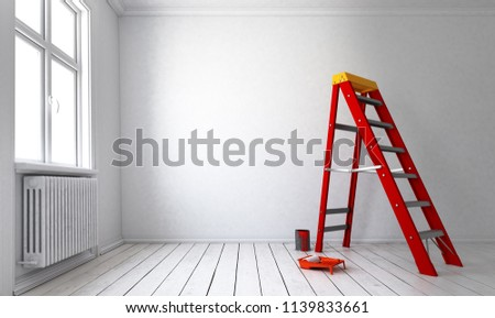 Feeder / Extract - painting the walls (3d rendering) #1139833661