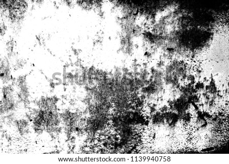 Black and white dust and Scratched Textured Backgrounds with space. #1139940758