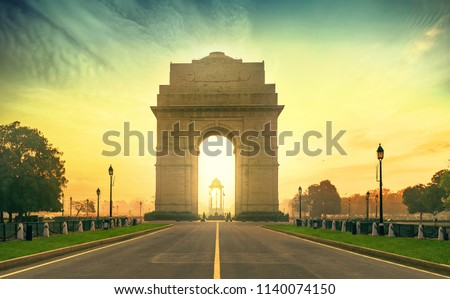 INDIA GATE DELHI #1140074150