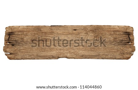 Old Board Royalty-Free Stock Photo #114044860