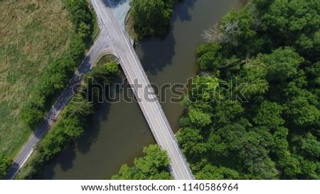 Road bridge over stream #1140586964