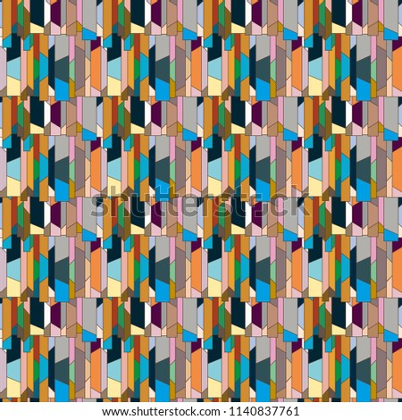 Abstract color seamless pattern for new background. #1140837761