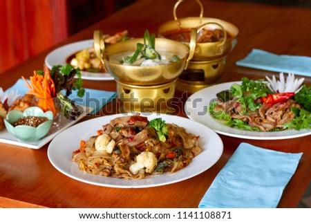 Thai Food on the table #1141108871