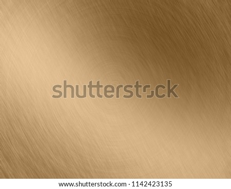 Abstract Gold metal brushed background or texture #1142423135