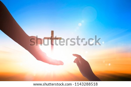 World Day of Remembrance: God's helping hand  Royalty-Free Stock Photo #1143288518