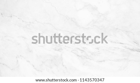 natural White marble texture for skin tile wallpaper luxurious background. Creative Stone ceramic art wall interiors backdrop design. picture high resolution. #1143570347