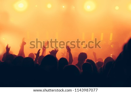 Concert crowd background #1143987077