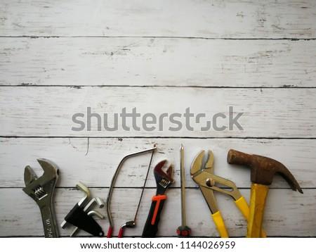 DiY tools background #1144026959