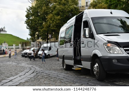 excursion minibus in city #1144248776