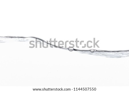 water wave on white background #1144507550