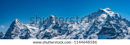Shilthorn, alps panorama view #1144648586