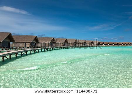 Tropical lagoon #114488791