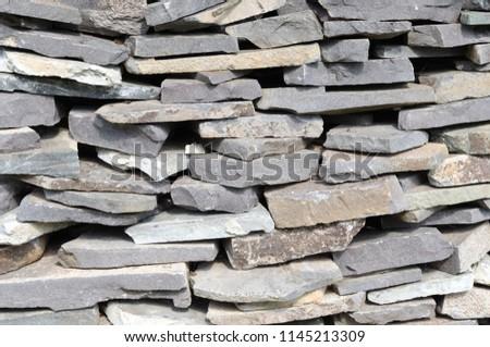 wall stone texture #1145213309
