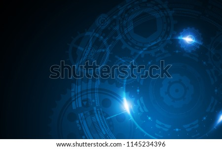 abstract system innovation technology concept background eps 10 vector #1145234396