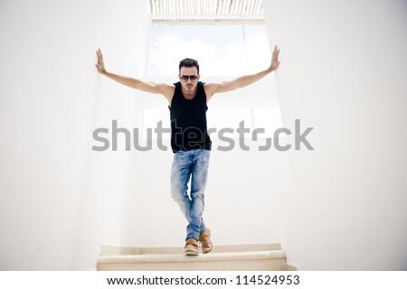 Fashion model indoors #114524953