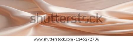 silk background texture. Light beige #1145272736