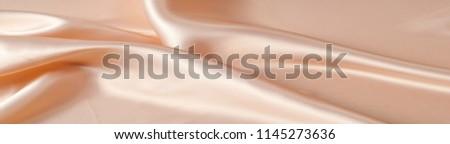 silk background texture. Light beige #1145273636