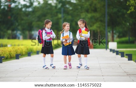 ppy children girls girlfriend schoolgirl student elementary school