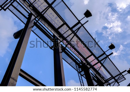 Looking Up To An Empty Billboard