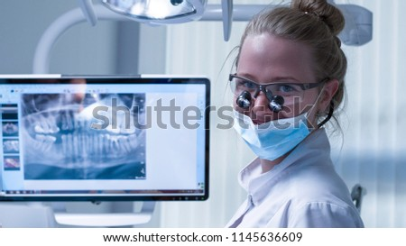 visit to the dentist  #1145636609