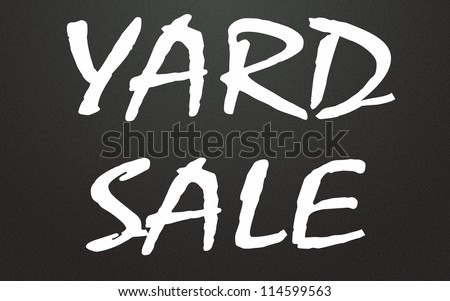 yard sale title