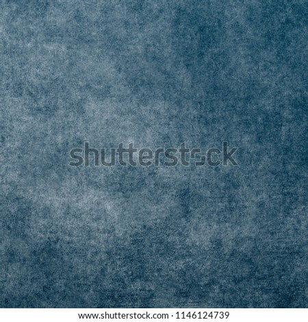 Blue designed grunge texture. Vintage background with space for text or image #1146124739