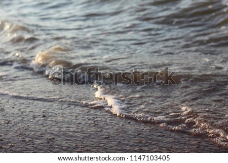 Sea beach and waves #1147103405