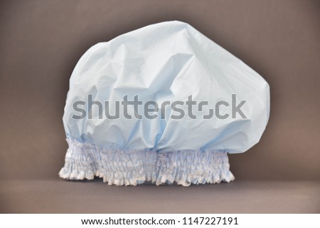 shower cap. art soft focus #1147227191