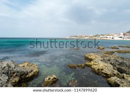 Renaredda beach, near Scoglio Lungo Beach, Porto Torres, Sassari, Sardinia, Italy #1147899620