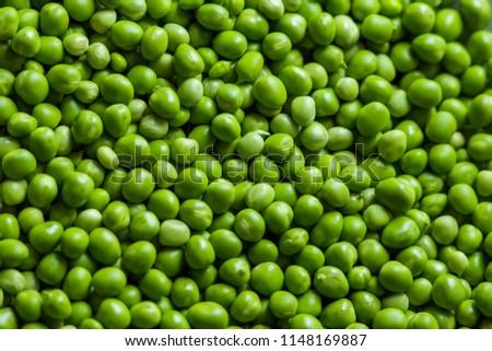 fresh organic pea background #1148169887