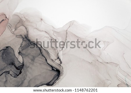 Ink, paint, abstract. Closeup of the painting. Colorful abstract painting background. Highly-textured oil paint. High quality details. #1148762201