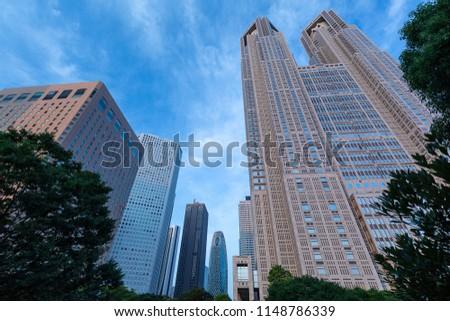Tokyo Metropolitan Government Office Building, Nishi-Shinjuku, Tokyo #1148786339
