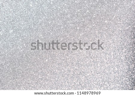 silver giltter texture christmas abstract background #1148978969