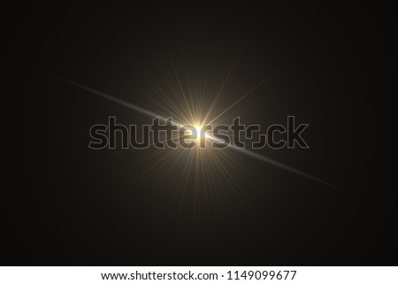 The explosive force from the center.Abstract of sun with flare.Background #1149099677