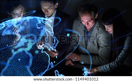 Global business concept. Royalty-Free Stock Photo #1149401012