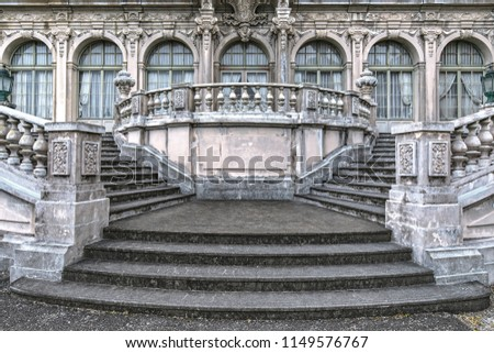 architecture symmetry background