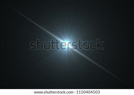 The explosive force from the center.Abstract of sun with flare.Background #1150404503