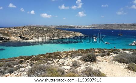 blue lagoon, Malta #1150507913
