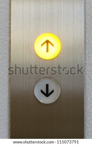 Elevator Button up and down direction