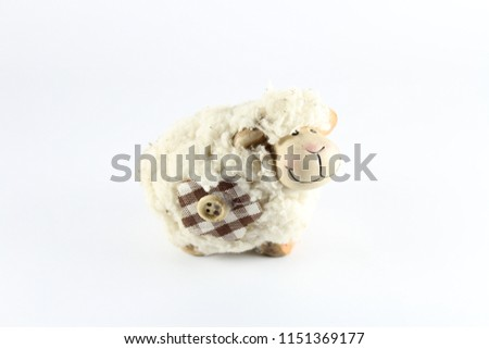 white small sheep #1151369177