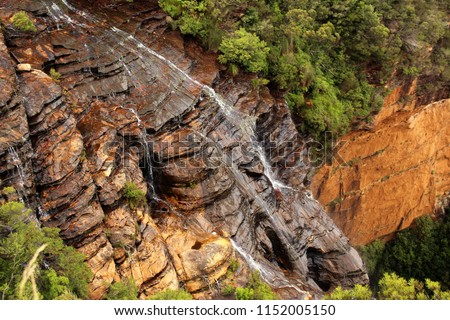 Blue mountains scenery #1152005150