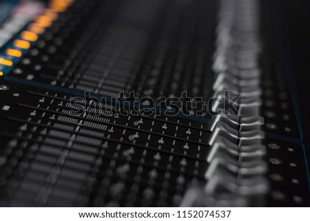 studio mixing panel standby #1152074537