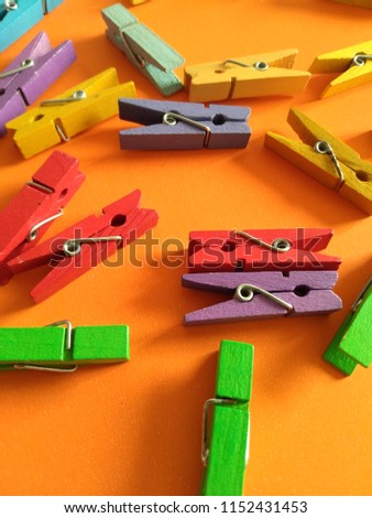 A colorful clips pattern. #1152431453