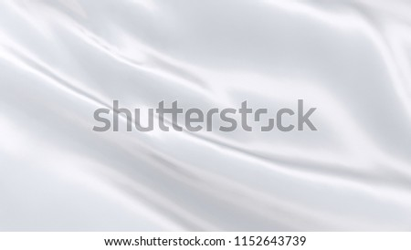 White cloth waving in the wind #1152643739