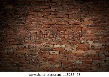 Brick wall #115283428