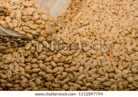 carioca bean seeds for Brazilian cooking-food -  healthy eating -  traditional brazilian food #1152897794