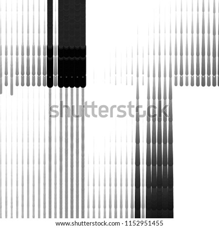 Abstract grunge grid stripe halftone background pattern. Spotted black and white line vector illustration  #1152951455