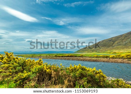 rural landscapes on the wester ross coastal route from Applecross to Ullapool #1153069193
